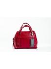 Кожаная сумка Empress (red) by OMABELLE