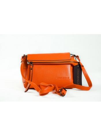 Кожаная сумка из натуральной телячьей кожи