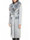 Пальто 110 см кашемировое (темно-голубой) (15384-25.12)