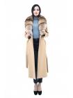 Пальто 110 см кашемировое (хаки) (15585-25.12)