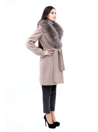 Пальто 95 см кашемировое (пепельный) (2417-25.12)