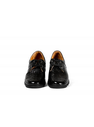 290977-LL Black Crispy Rugan Leather