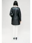 Куртка кожаная норка воротник (J6)