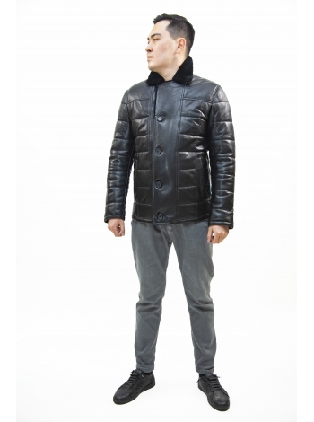 Куртка кожаная мужская (D25.20-1241)