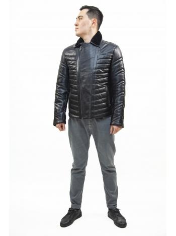 Куртка кожаная мужская (D25.20-1239)