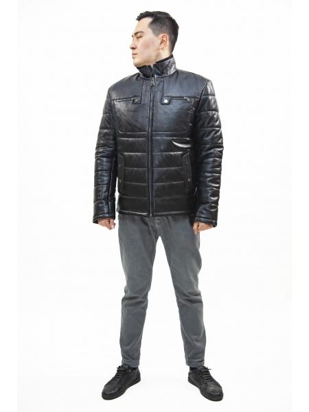 Куртка кожаная мужская (D25.20-1261)