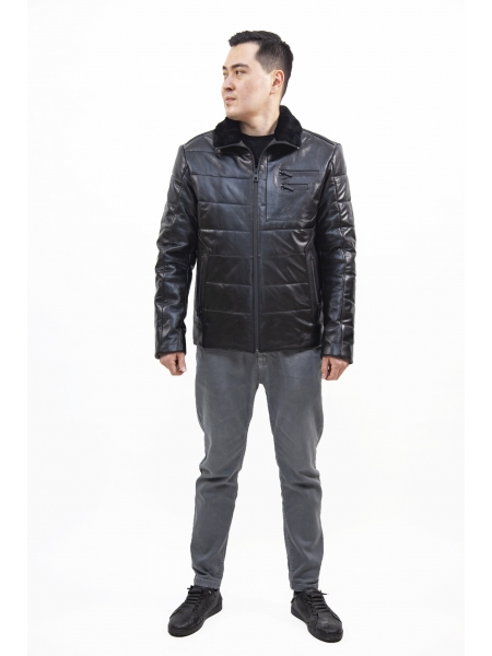 Куртка кожаная мужская (D25.20-8007)