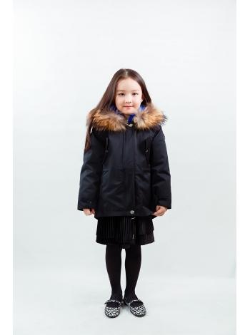 Парка детская Omabelle kids (черный) (POK)